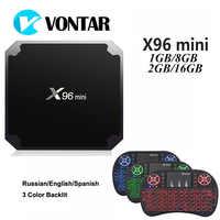 X96 mini IPTV France Box 2G 16G S905W Android 7 1 QHDTV 1 year IPTV  Subscription X96mini IPTV Arabic Dutch Belgium France IP TV