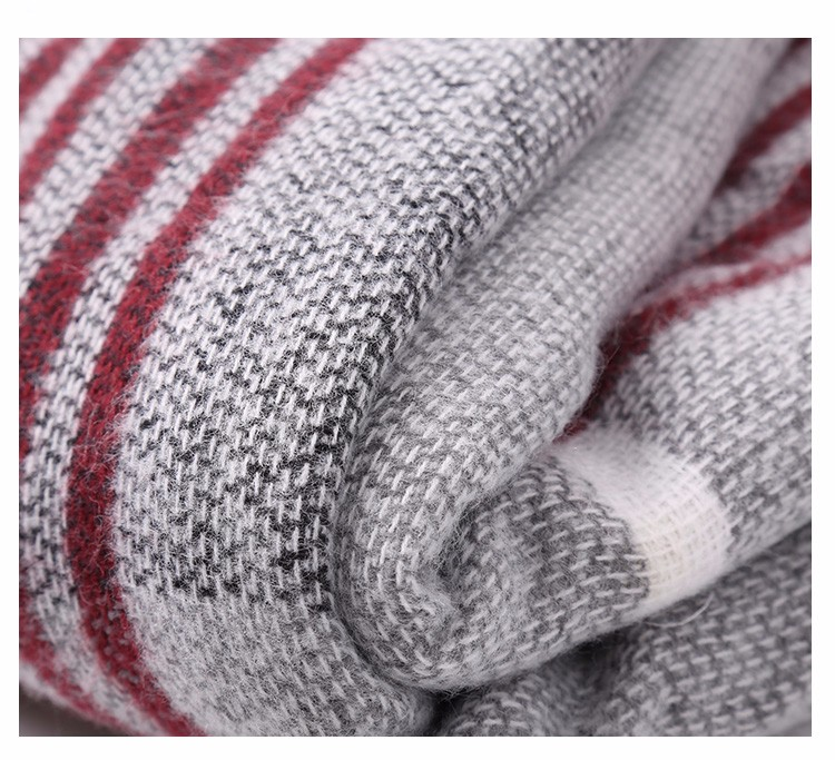 Fashion Striped Scarf | Blanket Scarves