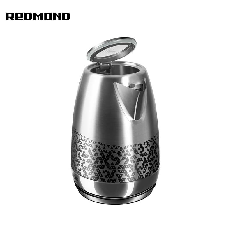Kettle Redmond RK-M177 metal large capacity electric kettle redmond rk m172 metal
