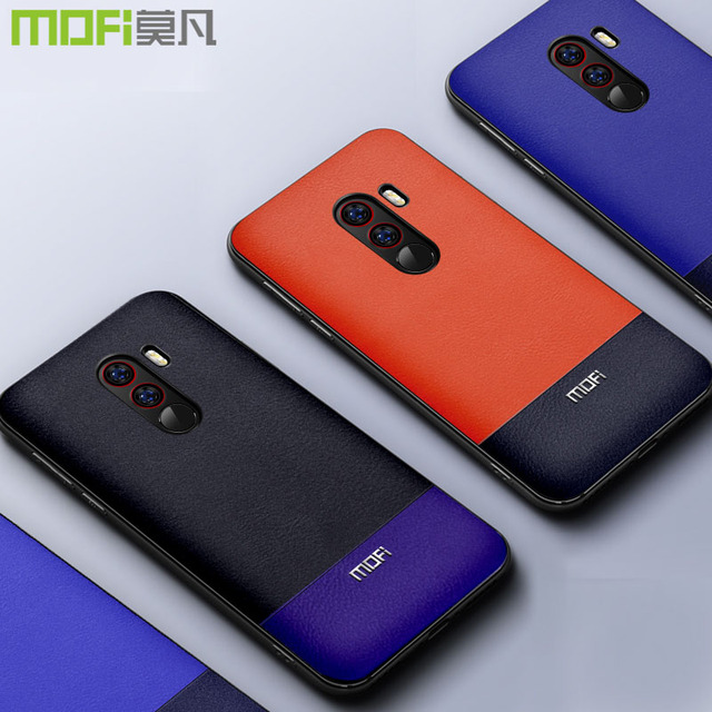 Mofi Xiaomi Pocophone F1 Luxury Dual Tone Back Case Cover