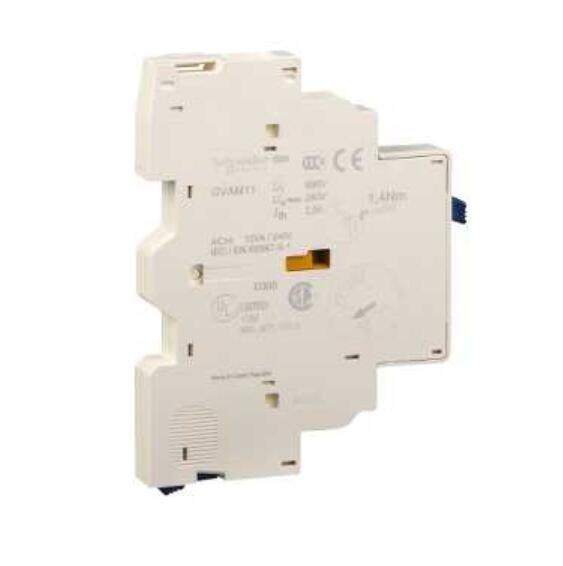 Tesys GV2/GV3 короткое замыкание сигнального контакта, боковое Крепление, С 1 N/O + 1 N/C GVAM11 GVAM-11