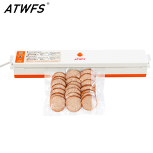 ATWFS vakumlama makinesi ambalaj yalıtım makinesi en iyi taşınabilir gıda vakum mühürleyen mutfak Packer ile 15 adet vakum poşeti gıda tasarrufu için