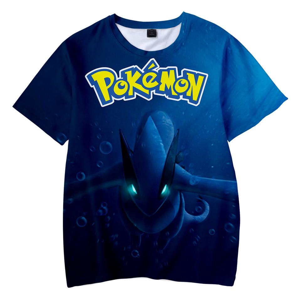 Kawaii 3D Pokemon Print Childrens Harajuku T-shirts  kids Casual Clothes 2018 Hot Sale Short Sleeve TShirt  Kpop Hip Hop 2