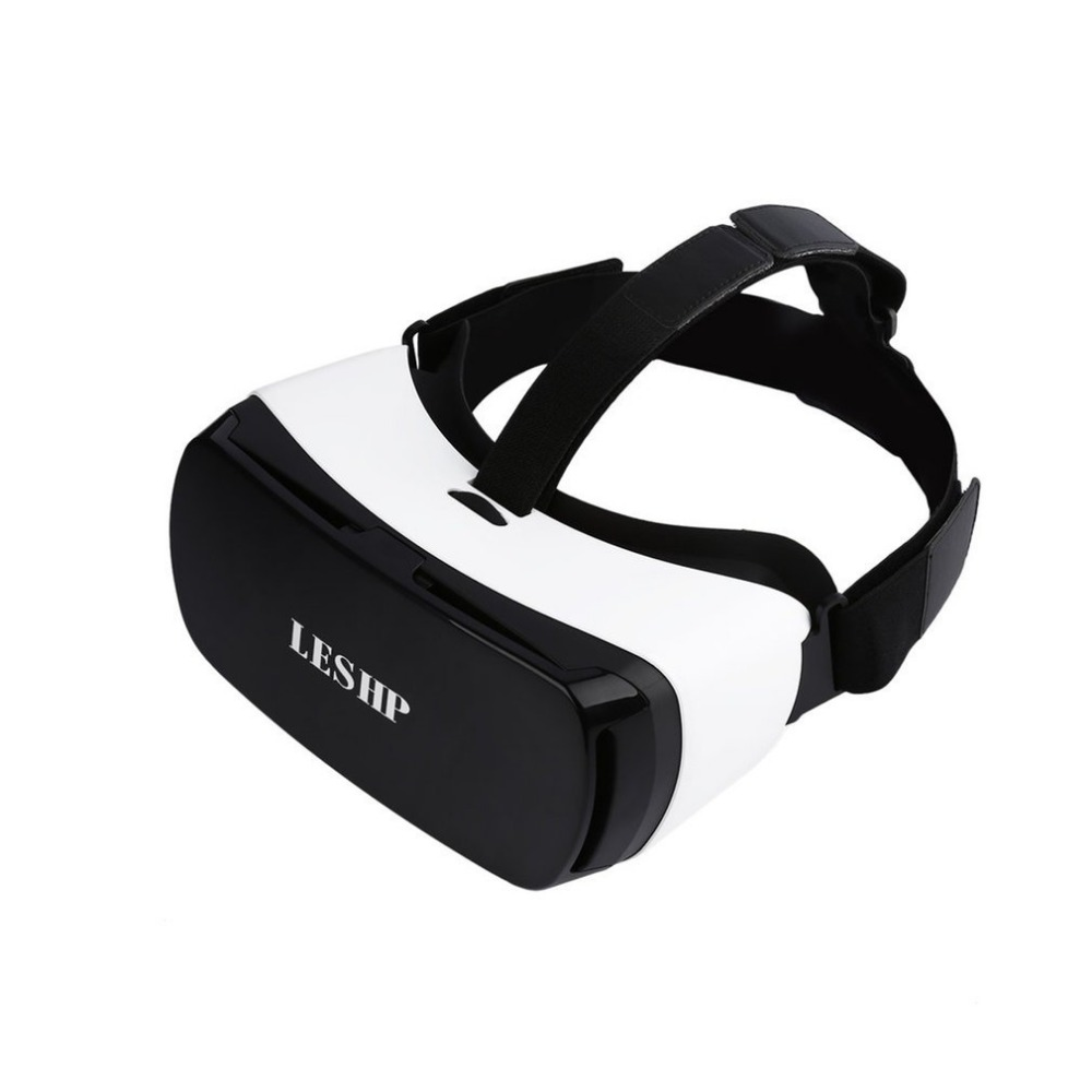 LESHP Bluetooth 3D VR Glasses Headset Virtual Reality Goggles VR Box Play Movies Photos Enjoyment for 4.5-5.5 inch Smartphones