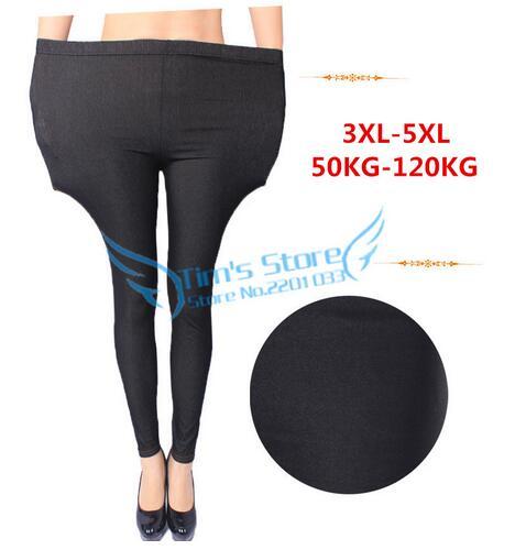 Plus Size 5XL 4XL 3XL Women   Jeans   2017 Spring Autumn Fashion High Street Big Size Woman Elastic Waist Harem   Jeans   Taille Haute