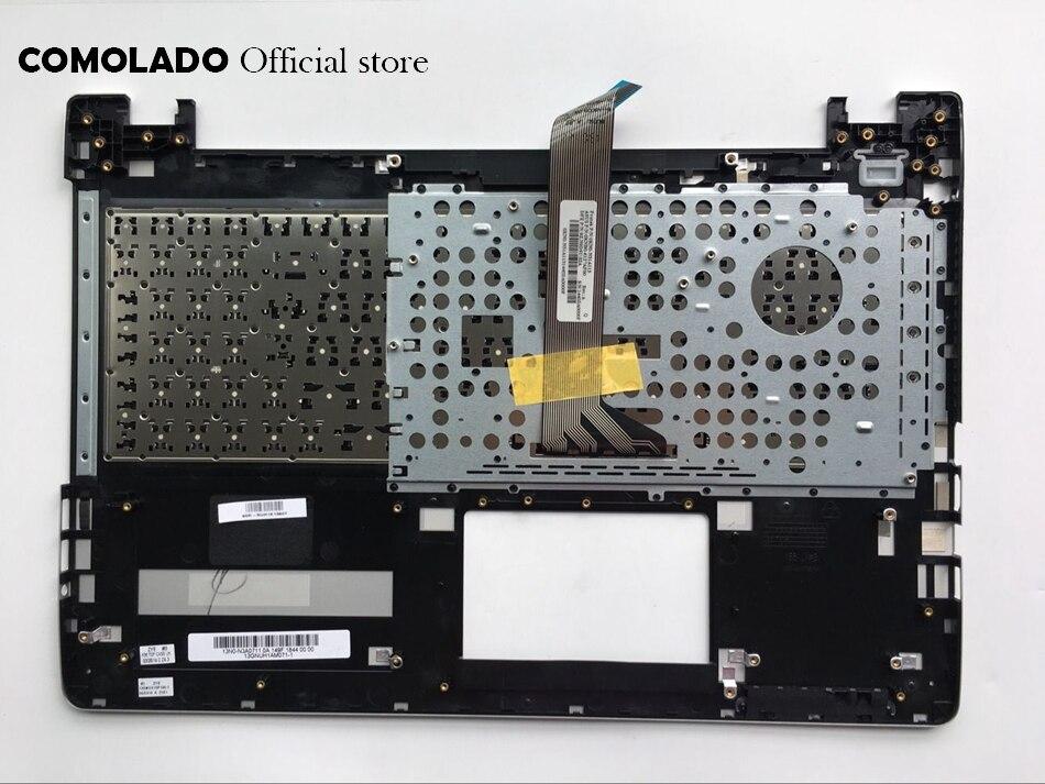 AF Arabic-French Keyboard For ASUS K56 k56C K56CB K56CM K56CA A56 A56C S56C S56 Top Cover Upper Case Palmrest AF Layout (2)