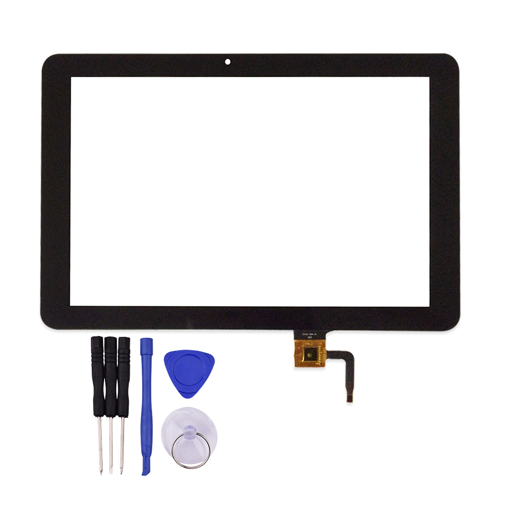 New Black for Explay sQuad 10.02 3g 10.1 inch Touch Screen Digitizer Sensor Replacement ,255x165 mm, 115 mm From Camera