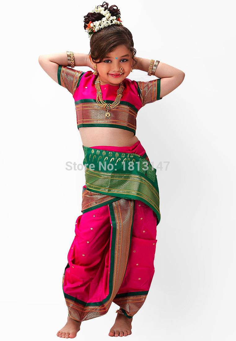 2015 New Indian Dance Costume Indian Traditional Dress -4049