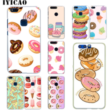 IYICAO Donuts Ice Cream Hard Case for Huawei Honor 6A 6C 7A 7C 7X 8 8X 9 10 20 9X Lite Pro Honor Play Note 10 View 20 lt3042 ultra low noise rf rf audio dac adc linear voltage regulator module 15v1a