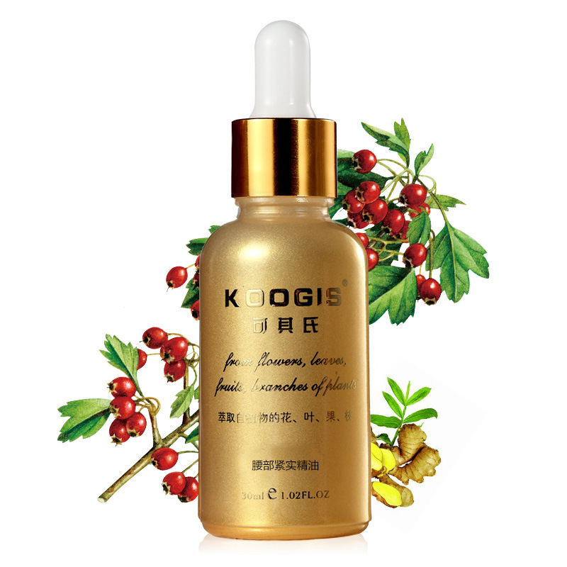 KOOGIS 30ml Slimming Losing Weight Essential Oils Thin Waist Fat Burning Pure Natural Weight Loss Products Beauty Body Slimming
