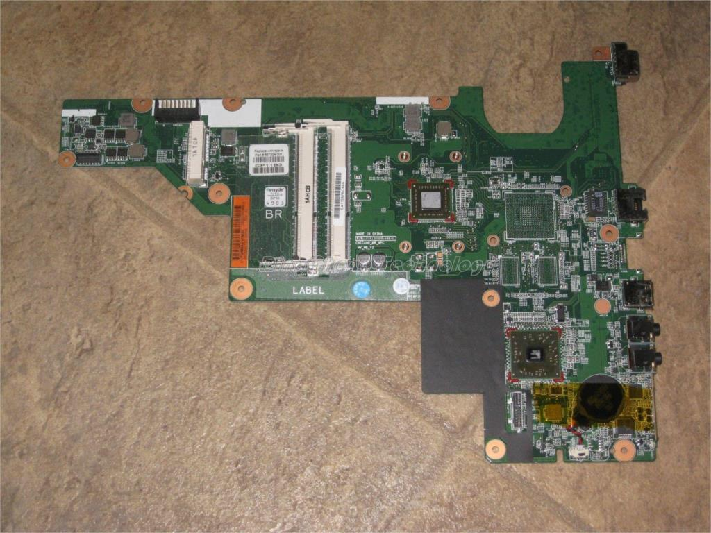 For hp CQ57 657324-001 Original laptop Motherboard for AMD cpu with integrated graphics card 100% tested fully