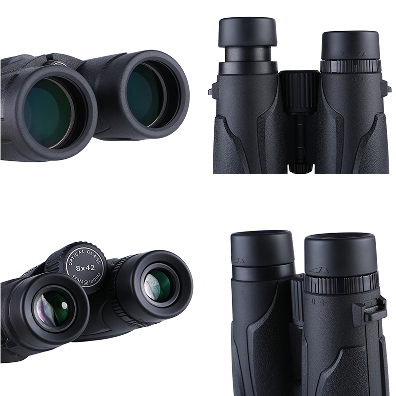 Image 5 - Latest Design 8x42 HD Binoculars Powerful Professional lll Night Vision Waterproof Binocular Hunting Telescope 6 Color Optional-in Monocular/Binoculars from Sports & Entertainment