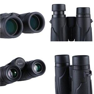 Image 5 - Lunettes de vue, 10x42 HD, puissant professionnel, Vision nocturne, jumelles étanches pour la chasse, 6 couleurs en option