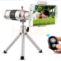 2017 Mobile lens kit Universal Clip 18x Zoom Telescope Telephoto Lenses With Tripod For iPhone 5s 6 6s 7 Xiaomi Meizu Smartphone
