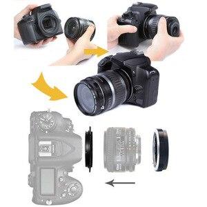 Image 2 - Ống Kính Macro Xếp Adapter Vòng Bảo Vệ 52 MÉT cho d90 d3100 d3200 d3300 d5100 d5200 d5300 d7000 máy ảnh