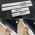 Free shipping Stainless Steel Scuff Plate Door Sill car accessories For Toyota Rav4 2014 2015 2016