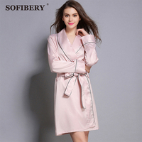 SOFIBERY Women's Sleep & Lounge Robes Women fashion sexy long sleeves Robes Women's Highland barley sexy Robes WPX-P3009