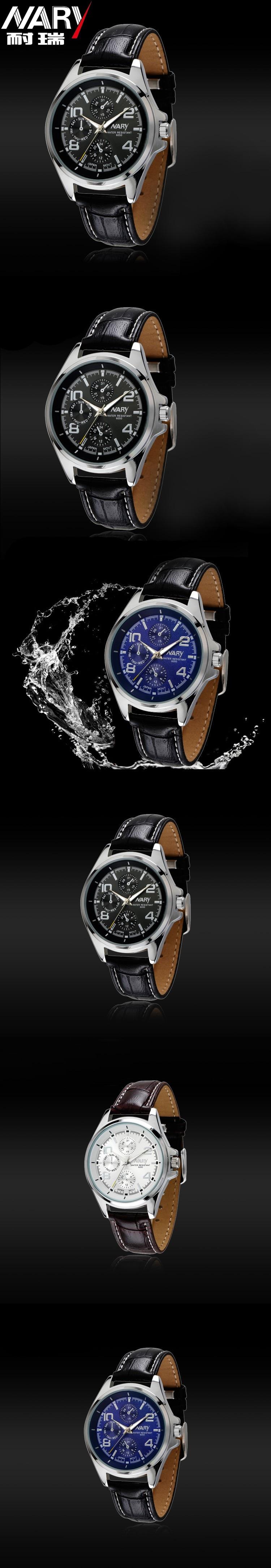 HTB1hQh1JFXXXXcIXpXXq6xXFXXXR - Nary Часы мужчины люксовый бренд Бизнес часы кварцевые часы спортивные мужчины полный стали наручные часы Повседневное часы Relogio Masculino 2016