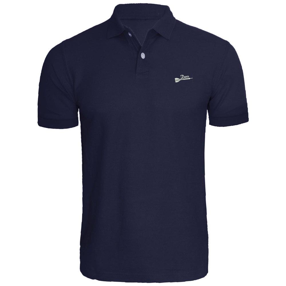 Mens Darts Arrow Embroidered Polo Shirts