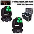 TIPTOP Super Beam 3x40 Вт RGBW 4в1 светодиодный движущийся головной свет OLED дисплей DMX512/Авто/Звук/Master-slave бег Линейный диммер стробоскоп
