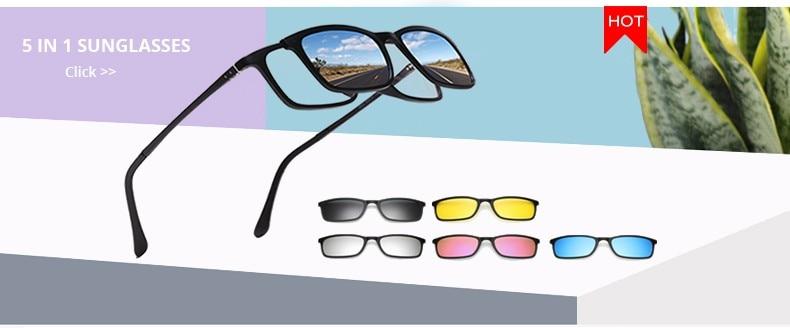 f5cd0b0df ộ_ộ ༽Ralferty الماركات مصمم مربع النظارات الشمسية الرجال النساء ...