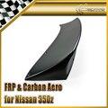 Carro-styling Para Nissan 350Z RB Estilo FRP Fibra De Vidro Spoiler Traseiro