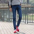 Skinny design The spring and autumn new blue men's jeans trousers men's casual jeans hot sale KY9521