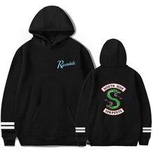 FADUN TOMMY Riverdale int с капюшоном для женщин и мужчин популярная одежда 2019 Harajuku повседневное Лидер продаж толстовки KPOP Толстовка PlusSize