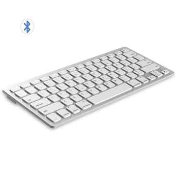 Multi-Lingual Universal Wireless Bluetooth Keyboard Ultra Slim Wireless Keyboard Compatible for iOS iPad Android Tablets Windows - Category 🛒 Computer & Office