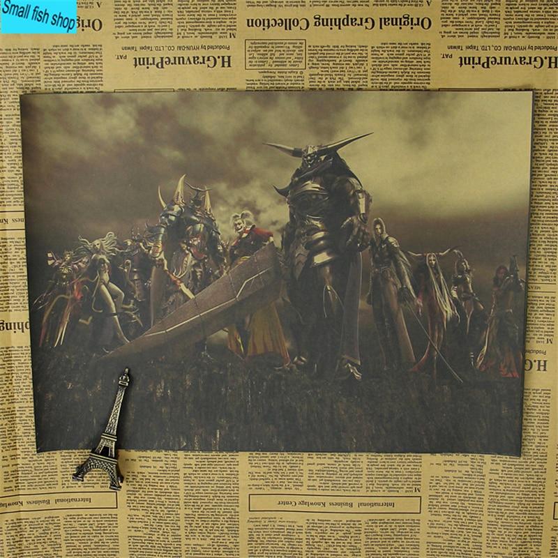 Қорытынды фэнтези-ойын-сауық плакаты - Үйдің декоры - фото 6