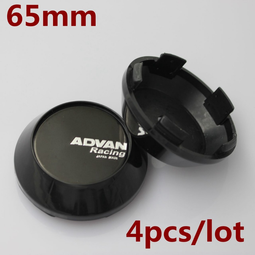 KOM POWER 65MM ADVAN Racing Sticker Badge Wheel Center Cap Hub Caps Wheels Cover ADVAN Emblema Calota Centro Rodas Centro