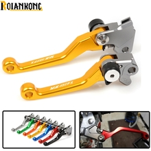 For Yamaha YZ 450FX 2016 2017 2018 Motorcycle CNC Dirt Bike Brake Clutch Lever Pit Handle With logo YZ450FX