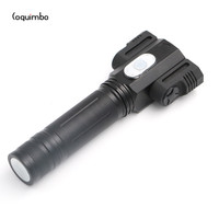 4 Modes 3 LED Flashlight White Warm Light Power By 1 18650 Battery Super Bright Torch