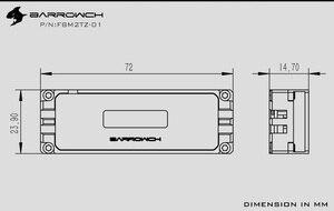 Image 5 - بارو ميزان الحرارة استخدام ل 2280 \ 22110 PCI E SSD \ SATA M.2 M2 SSD \ عرض في الوقت الحقيقي من درجة الحرارة/ل 80 مللي متر/110 مللي متر M.2