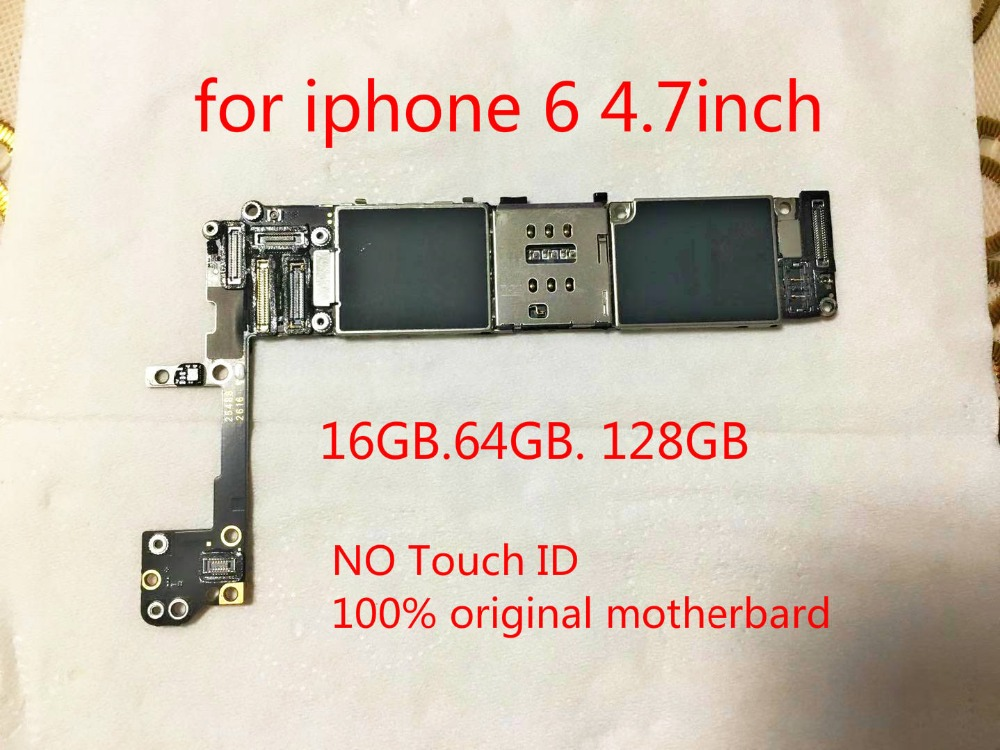 Logic-Board Circuits-Motheboard IPhone For 6-16gb Without Touch-Id Fingerprint--Tool