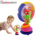 Baby tricolor multi-touch rotating Ferris wheel toy early creative educational toys with suction cups