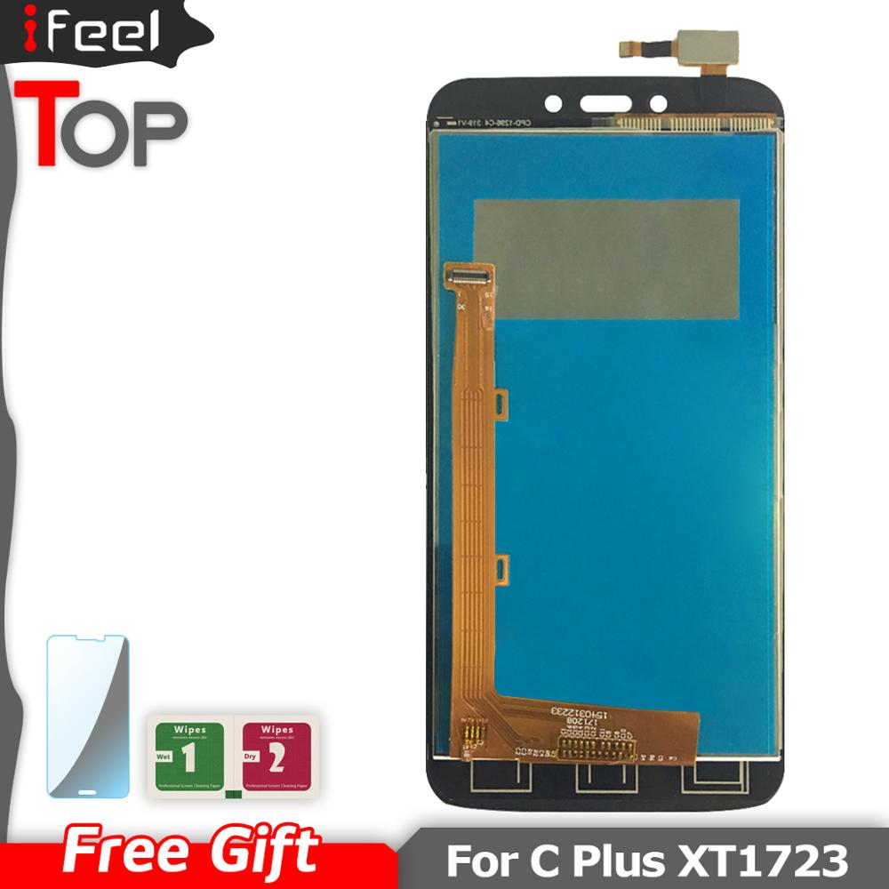 LCD Display For Motorola Moto C Plus CPlus <font><b>XT1723</b></font> LCD Display Touch Screen Sensor Glass Assembly Free Shipping image