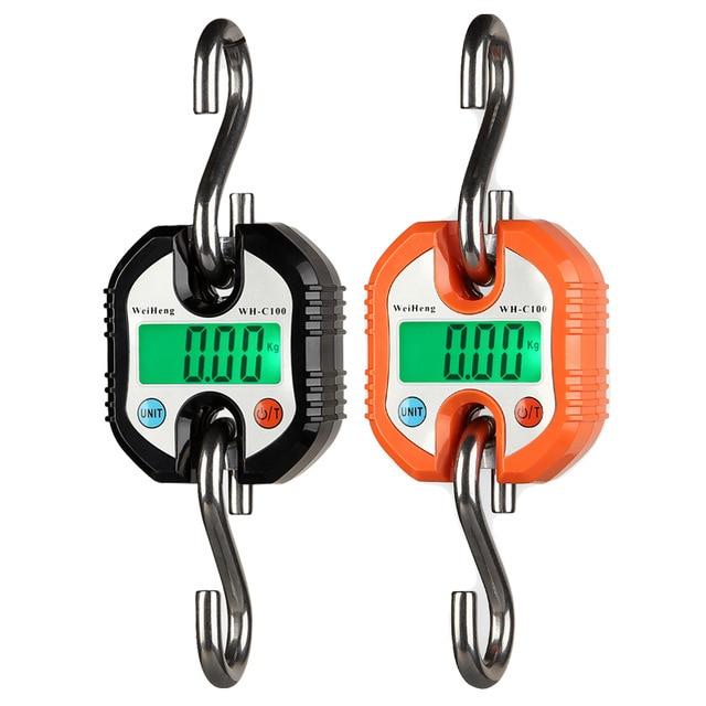 Nouveau 150 kg Mini Balance électronique Portable Digita Balance de grue bagages Balance de pêche poche Balance de poids crochet Balance suspendue