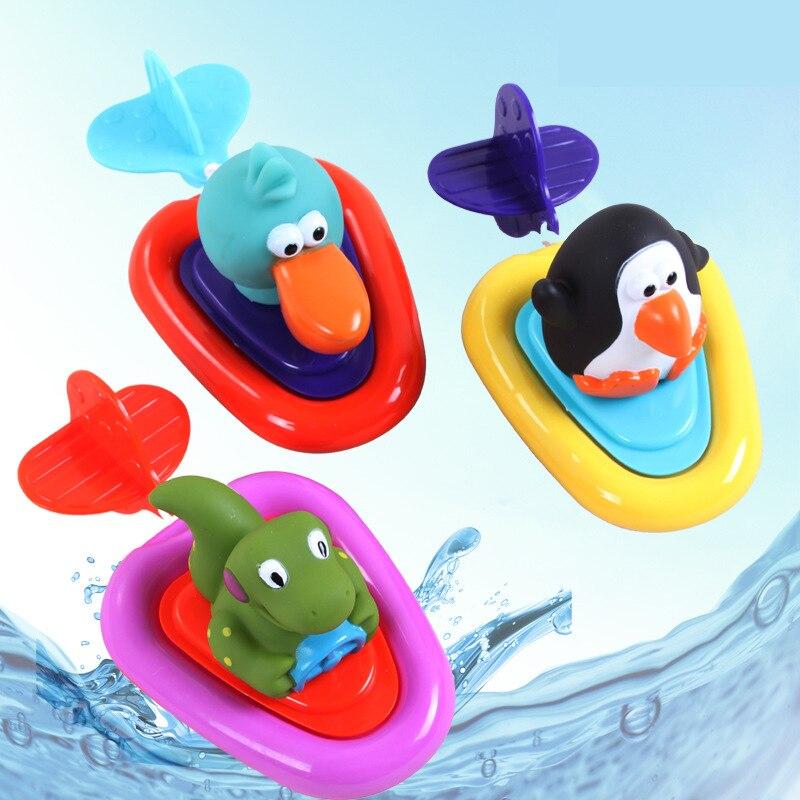 Brinquedos da água do Banho Patos De Plástico Amarelo Tartaruga Pinguim Clockwork Toy Lote Brinquedo Flutuante Banho Pato Banho Pato De Borracha Flutuando