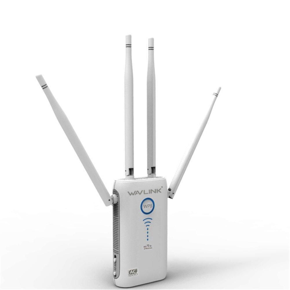 11ac 1200 Mbps AP/routeur WiFi gamme Extender Wifi Booster Signal extendersrépéteur avec 4 antennes externes amplificateur de Signal WiFi