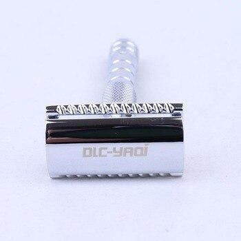 Yaqi el Kit de maquinilla de afeitar en Color cromado con 3 cabezales