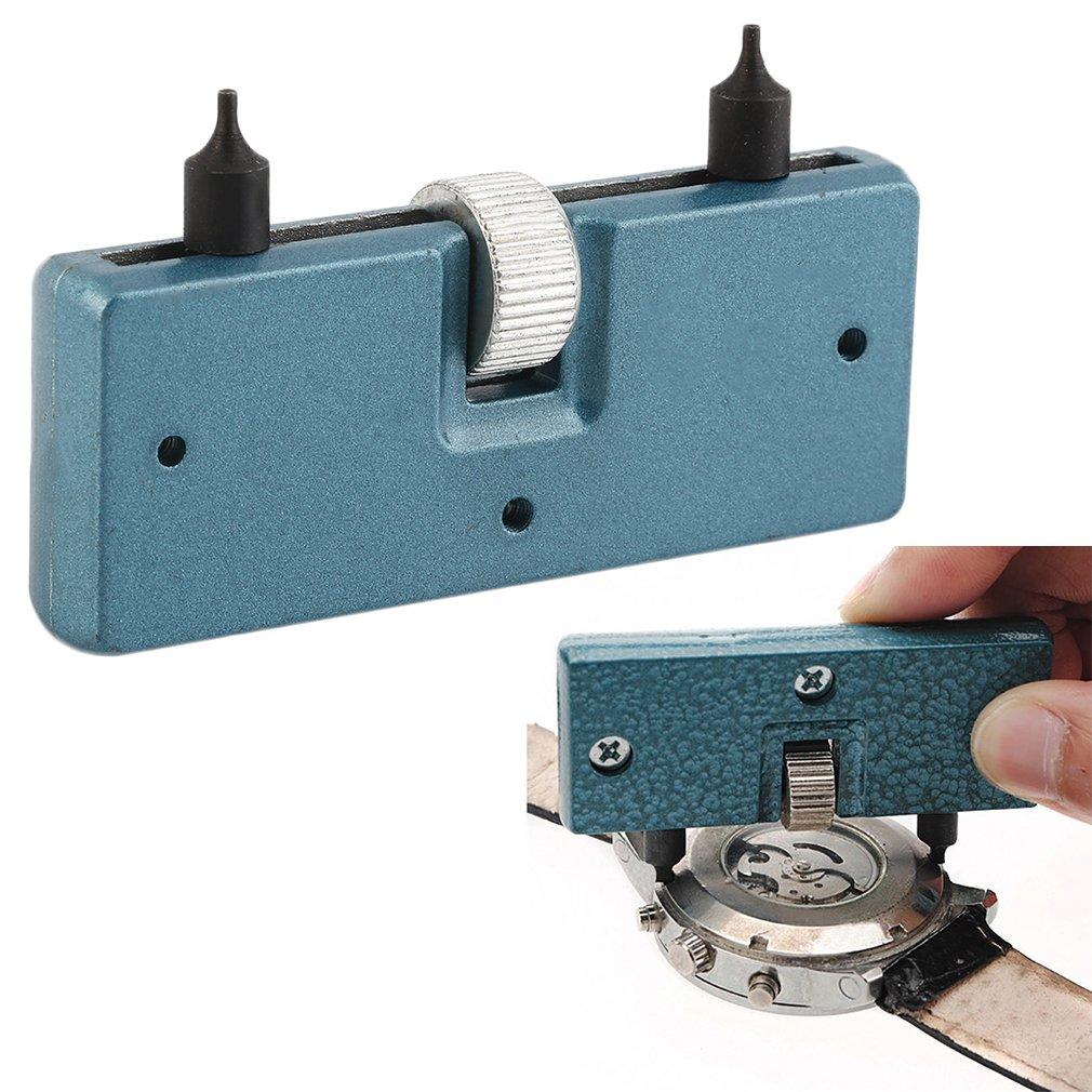 New Adjustable Watch Opener Back Case Remover Screw Watchmaker Open Battery Change Watch Repair Tool Kit