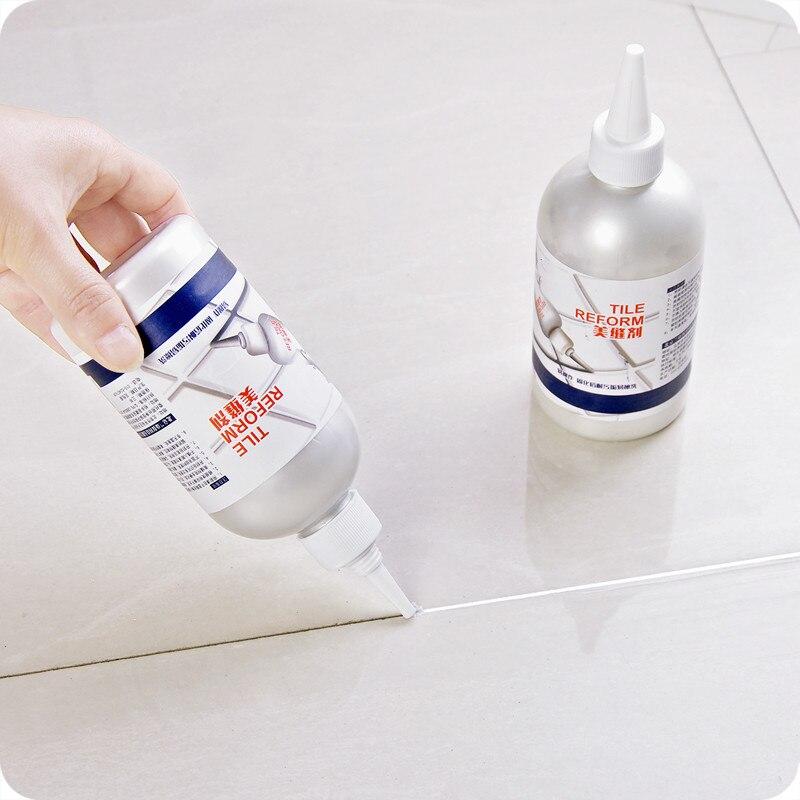 Repostería epoxi profesional de 300 ml hermoso sellador para suelo de azulejo a prueba de agua agente de llenado de huecos true para pared de porcelana