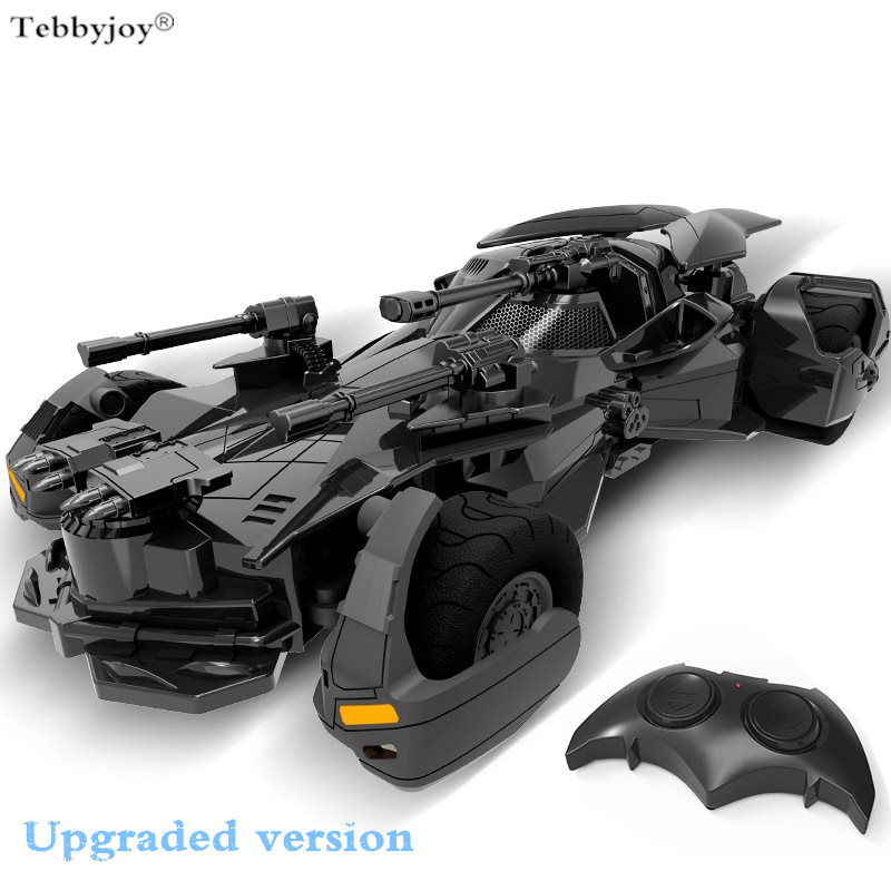 Electron RC car toys Batman Superman 1:18 Justice League Batman childrens toy model Gift simulation display