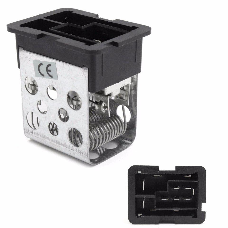 Car Heater Blower Motor Fan Resistor For Vauxhall Astra H MK5 2004 2005  2006 2007 2008-2011 #90560362