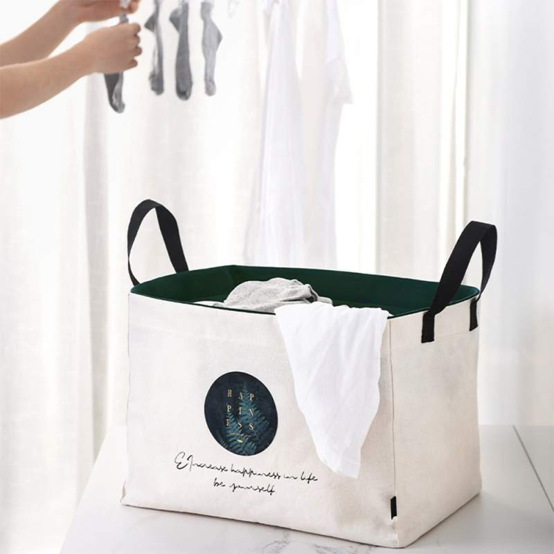 Foldable Hamper Clothes Storage Basket Household Toy Washing Dirty Clothes Big Storage Basket Sealable Laundry Basket