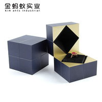 Internet Red Suggestion Rubik's Cube Ring Box Tremble the Same Necklace Valentine's Day Gift Jewelry Box jewelry boxes