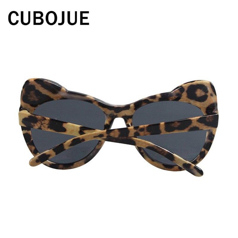 Cubojue Leopard Katzenaugen-sonnenbrille Für Mädchen Kinder Nette Kühle Sonnenbrille Für Kind 5-12 Alter Fall Geben Uv400