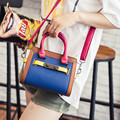 Promotion Women candy color patchwork Flap Messenger Bag Designer Handbags High Quality Crossbody Bag Bat Wing bolosa