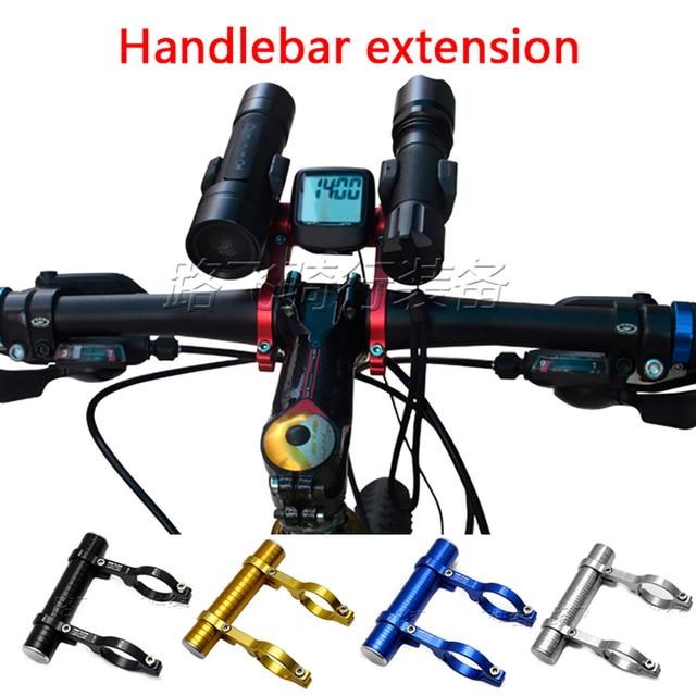 Vélo de route vélo Double guidon Extension Gub-558 support en Fiber de carbone support d'extension pour lumière prolongée 31.8 MM Gub 558 559